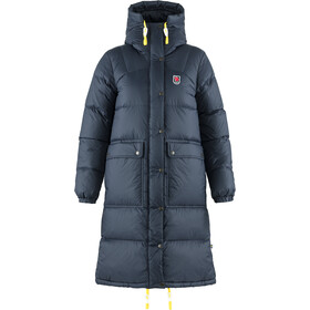 Fjällräven Expedition Pack Parka En Duvet Long Femme, navy